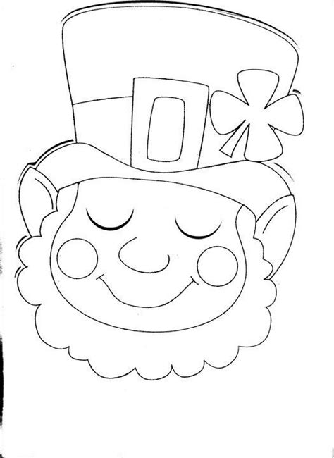 coloring page st patrick s day pinterest
