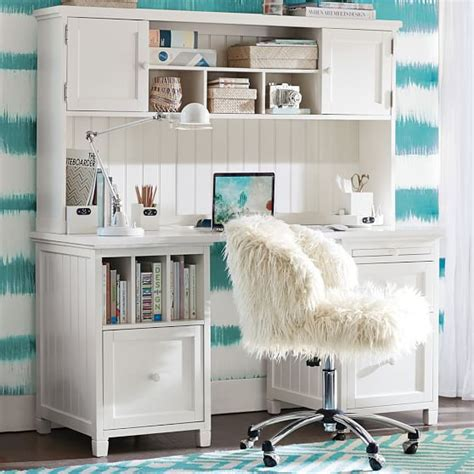 desk for teenager beadboard smart divider desk pbteen