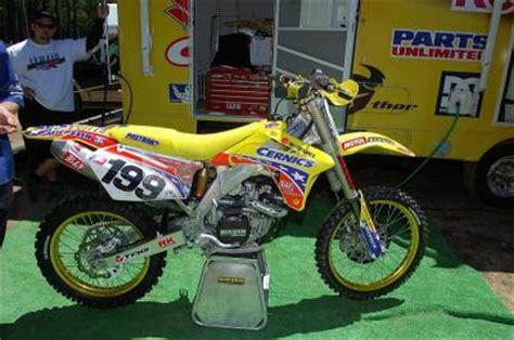 Cernics Suzuki Suzuki 450 Rm Z Cernics Travis Pastrana Motocross