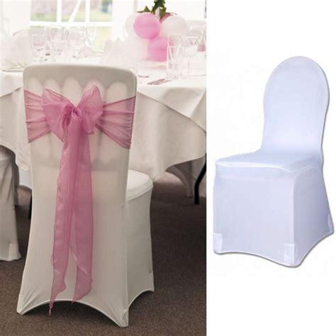 Housse De Chaise Tissu Pas Cher 1865 housse de chaise int 233 gral tissu spandex elastique en lycra