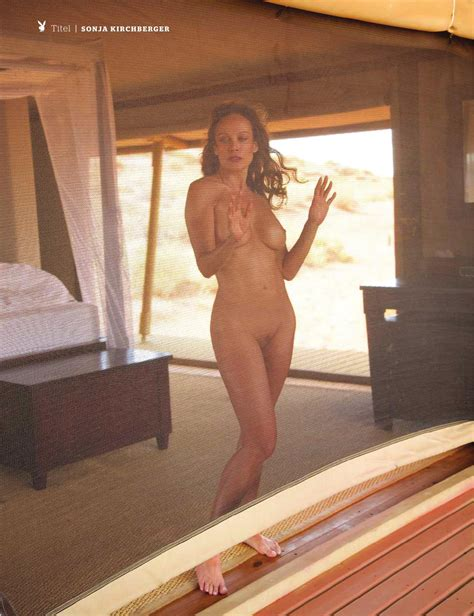 sonja Kirchberger For Playboy Magazine Germany Your