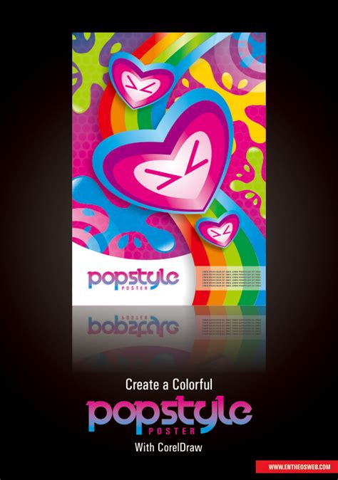 corel draw templates for posters poster design in coreldraw