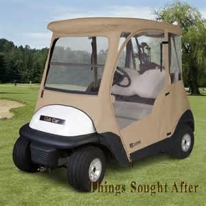 Golf Cart Rain Canopy by Enclosure For 2012 Club Car Precedent 2 Person Golf Cart