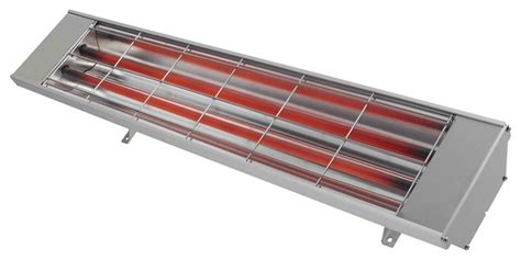 Contemporary Patio Heaters Heatstrip Max 2400w Infrared Electric Outdoor Heater Contemporary Patio Heaters By