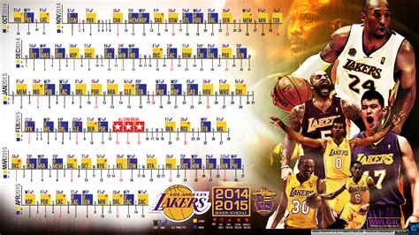 la lakers 2014 2015 schedule wallpaper basketball