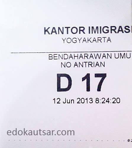 cara membuat paspor online jogja cara pembuatan paspor di kantor imigrasi kelas i