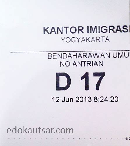 cara buat paspor online yogyakarta cara pembuatan paspor di kantor imigrasi kelas i