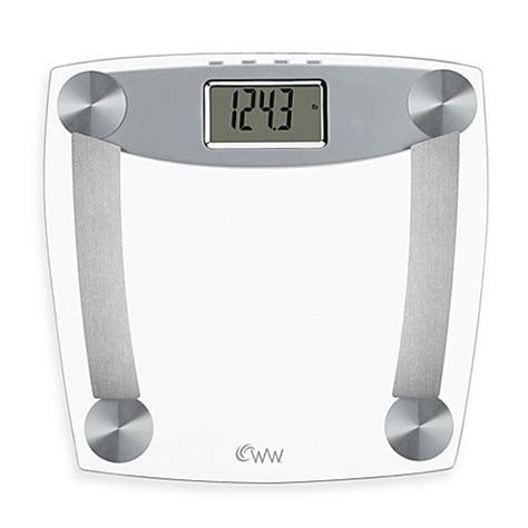 weight watchers 174 by conair glass body analysis bathroom