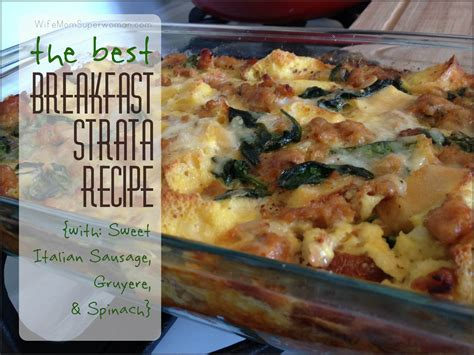 strata recipe sausage kale strata recipe dishmaps
