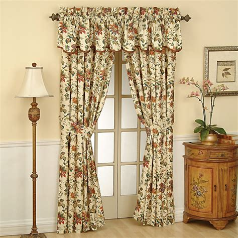 Waverly Curtains And Drapes Waverly Window Valances Waverly Sweet Violets Bedding