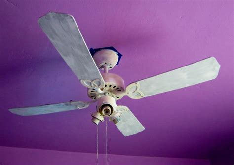 Can You Paint A Ceiling Fan by How To Paint A Ceiling Fan Without Taking It Lynda
