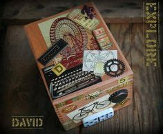 adkins whimsical musings mixed media 1000 images about altered cigar boxes on altered cigar boxes cigar boxes and