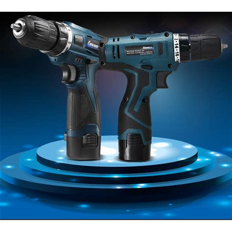 Cordless Rechargeable Electric Drill Dc D010 Bor Listrik lomvum bor listrik lithium battery rechargeable 220v 12v blue jakartanotebook