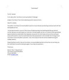 Business Writing Bad News Letter Example writing samples