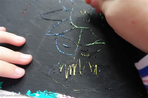 How To Make Scratchboard Paper - diy scratch paper for