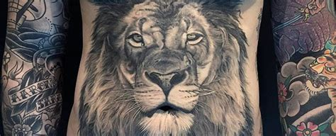 realistic lion tattoo designs 50 realistic designs for felidae ink ideas