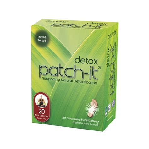 Detox Patch It by Nutriworks Patch It Detox Patches 1x20 Count
