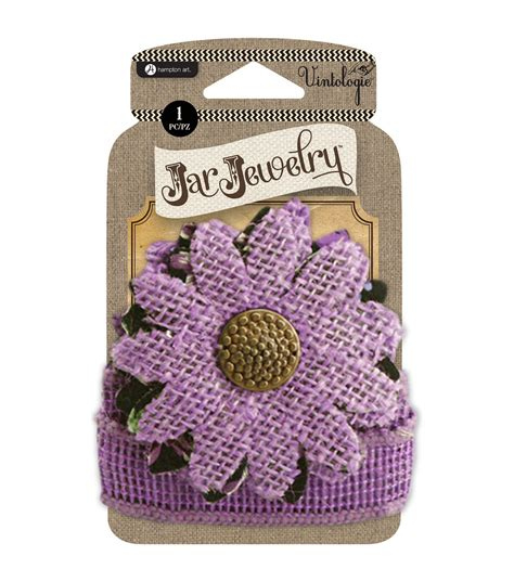 Home Decorating Company Coupon by Embellished Burlap Flowers For Pint Jars W Tie Purple Jo Ann