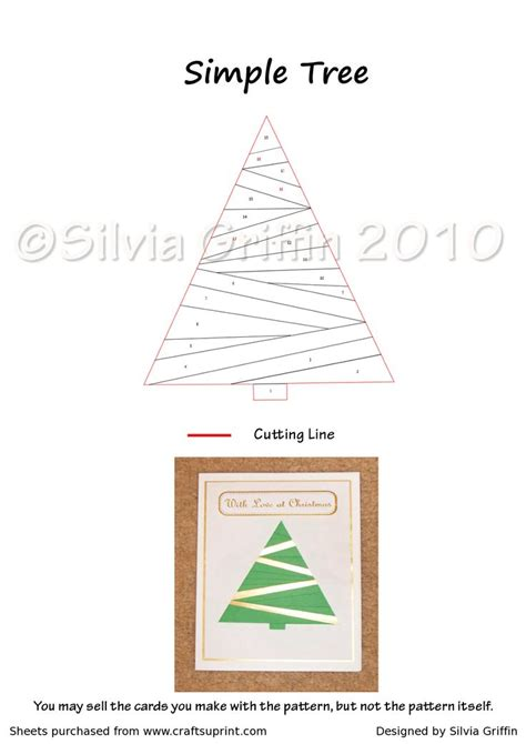 Folded Tree Card Template by 26 Best Images About Iris Folding Templates On