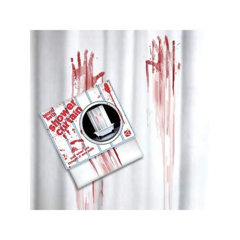 Blood Shower Curtain by Shower Curtain Quot Blood Bath Quot The Gadget Spot