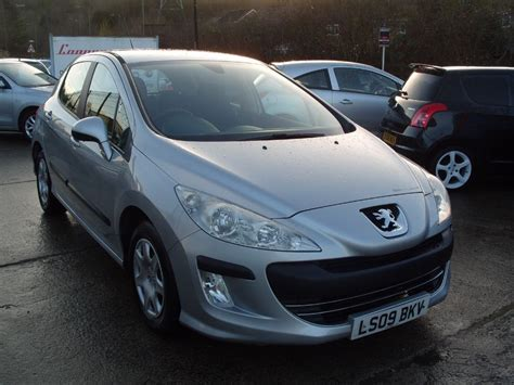 peugeot silver used silver peugeot 308 for sale glamorgan