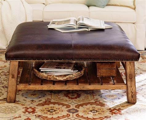 How To Make A Ottoman Coffee Table Square Ottoman Coffee Table