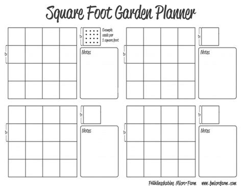 garden planner template square foot garden planner fmf outdoors