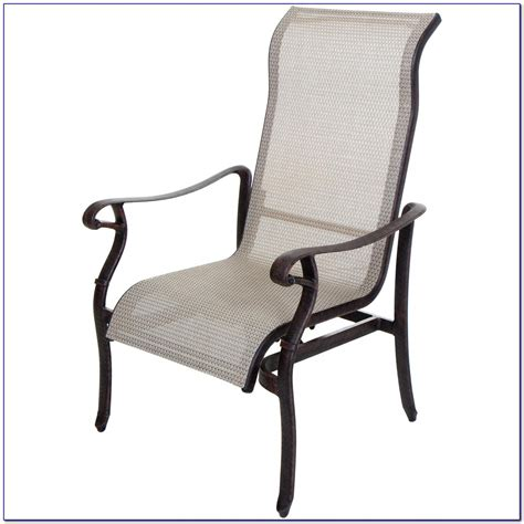 Patio Chairs With Ottoman Sling Patio Chair With Ottoman Patios Home Design Ideas 5er4ddorw3