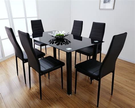 dinning room dining room sets with leather chairs home