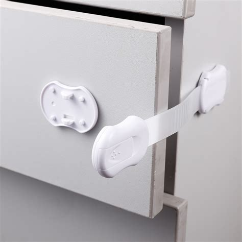 Kitchen Cupboard Child Safety Catch - baby safety lock protector kitchen cabinet door