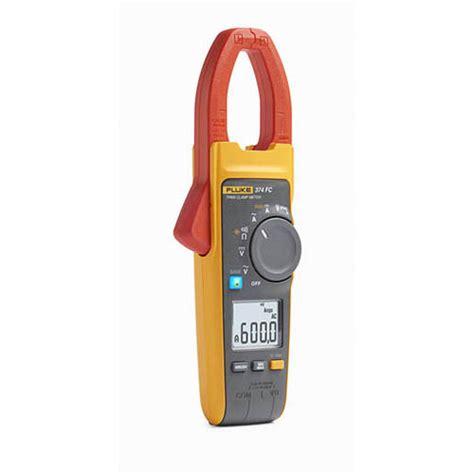 Fluke True Rms Cl Meter 353 0 fluke 374 fc true rms ac dc wireless cl meter with