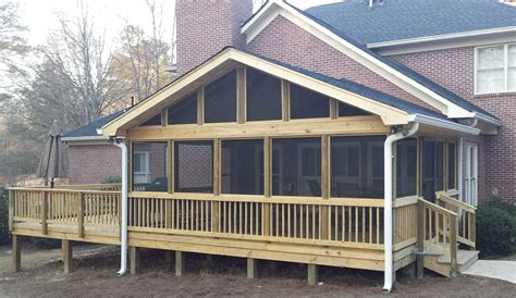porch deck archadeck of central ga macon warner robins decks patios porches pergolas gazebos and more