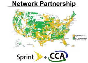 sprint coverage map sprint s new network partnership the republic