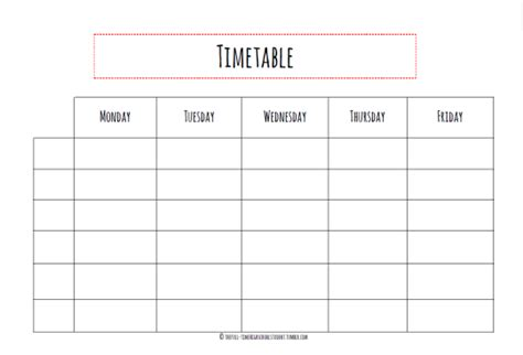 click here to get the timetable a4 pdf