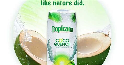 coco quench eat work and blog tropicana coco quench healthy and