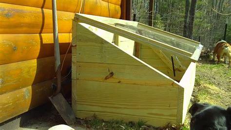 DIY Garden Cold Frame   YouTube