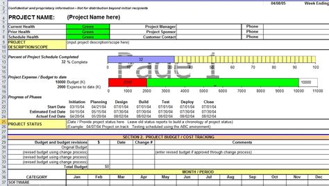 project weekly status report template excel weekly status report template excel sanjonmotel