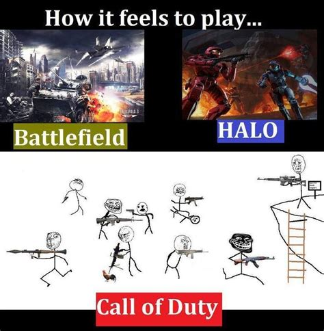 Meme Vs Meme - call of duty vs battlefield meme memes