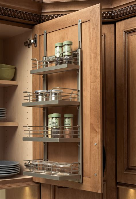 Kitchen Cabinet Door Spice Rack by Kitchen Cabinet Accessories Plain Amp Fancy