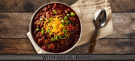 Lost Chili S Gift Card - survivors chili is perfect comfort food wilderness resort