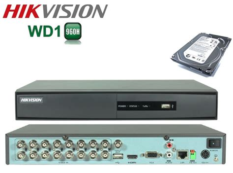 Jual Dvr 8 Channel Hikvision by 16 Ch Hikvision Dvr Not Wd1 Sky Max Cctv