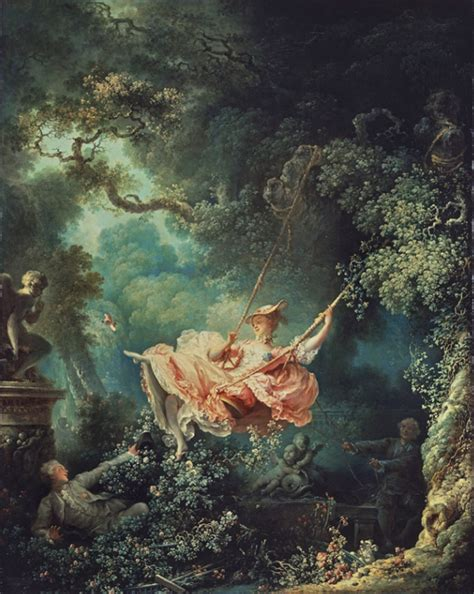 Fragonard The Swing 1767 by Vogue Like A Painting 에피소드 아름다운