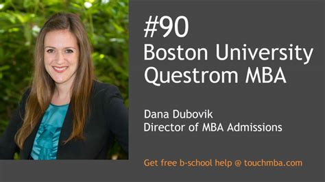 Bu Mba Application by Boston Questrom Mba Admissions With