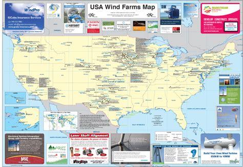 usa wind map usa wind farm map la tene maps