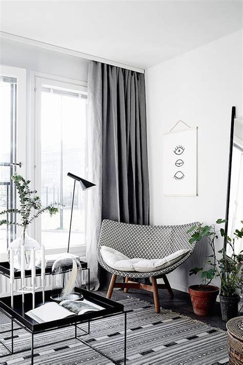 vorhänge skandinavisches design 1000 ideen zu vorh 228 nge auf len
