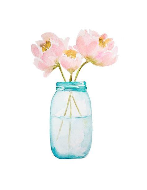 printable watercolor flowers watercolor flower printables printable 360 degree