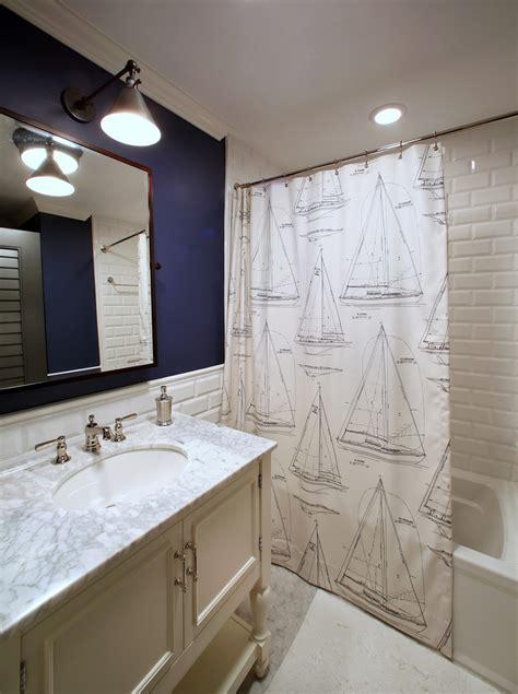 superb nautical shower curtain decorating ideas