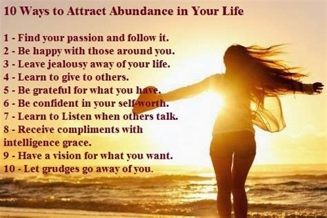 8 Ways To Impress A New by Quotes And Sayings 10 Ways To Attract Abundance In Your