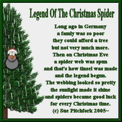 re christmas spider legend jacksmum 23 50 43 10 18 05