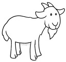 goat coloring pages goats free coloring pages